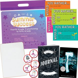 Summer Success Kit - Fourth Grade Transitioning to Fifth Grade