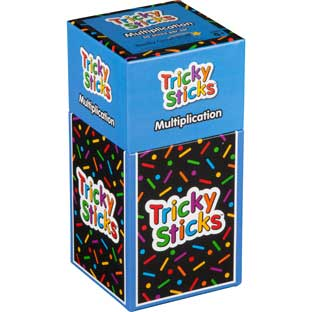 Tricky Sticks™ - Multiplication - 1 game