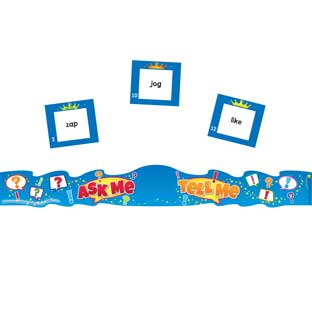 Ask Me, Tell Me Crowns Phonics Kit - 24 crowns, 164 cards