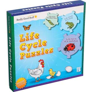 Life Cycle Puzzles - 5 puzzles