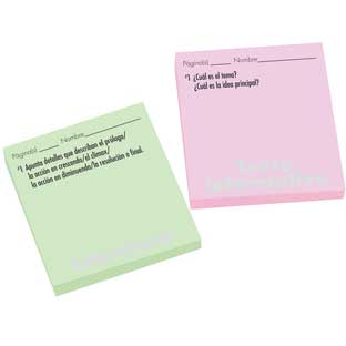 Spanish Comprehension Study Stickies™ Set