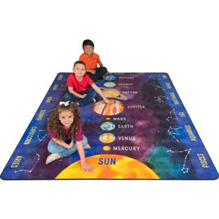 Planets And Constellations Rug - 1 rug