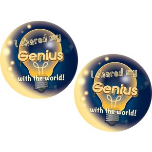 Genius Hour Stickers - 36 stickers