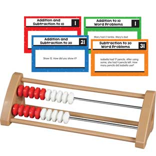 20-Bead Student Rekenreks With Task Cards - 1 multi-item kit