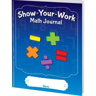 Show-Your-Work Math Journals - 12 journals