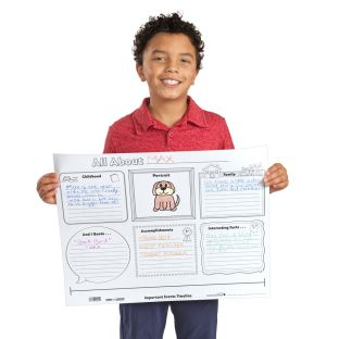 Ready-To-Decorate® Biography Report Posters