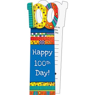 100th Day Bookmarks - 24 bookmarks