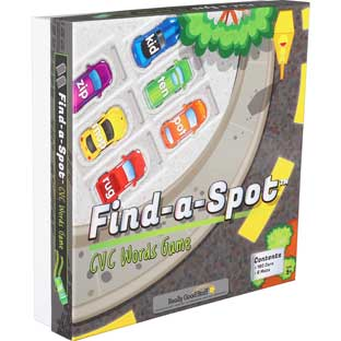 Find-A-Spot™ CVC Words Game - 1 game