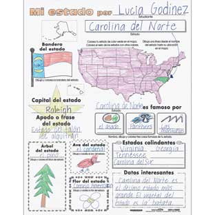 Ready-To-Decorate® Mi Estado (Spanish My State) Posters
