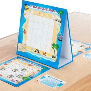Treasure Chest Multiplication Game - 1 game