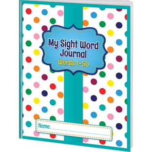 My Sight Word Journals - Words 1-50