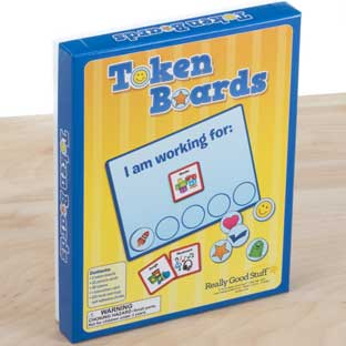Token Boards - 2 boards, 32 cards, 49 tokens