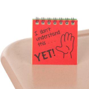The Power Of Yet! Mini Flip Charts - 12 mini flip charts