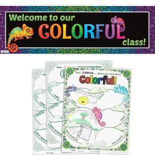 Ready-To-Decorate® Chameleon Bulletin Board Kit
