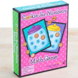 Cookie Jar Numbers Math Game - 1 game