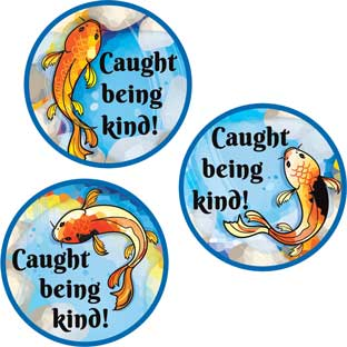 Character Koi Stickers
