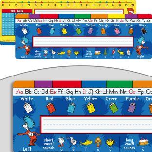 Dr. Seuss™ Nameplates - 24 nameplates