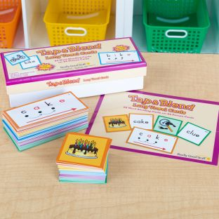 Tap and Blend Long Vowel Cards - 168 cards