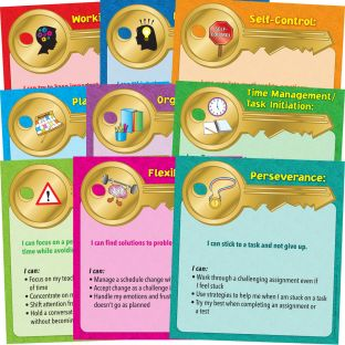 Executive Functioning Skills Mini Posters - 9 mini posters