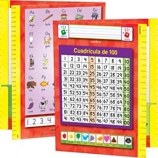 Spanish Resource Folders - Primary - 12 folders