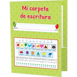 Mi carpeta de escritura (Spanish My Writing Folders) - 12 folders