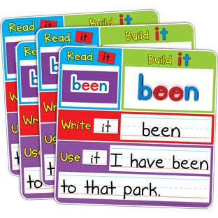 Magnetic Read, Build, And Write 4-Student Kit - 1 multi-item kit