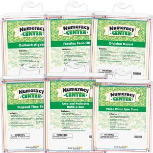 Numeracy Centers™ - Grades 3-5 - 6 numeracy centers