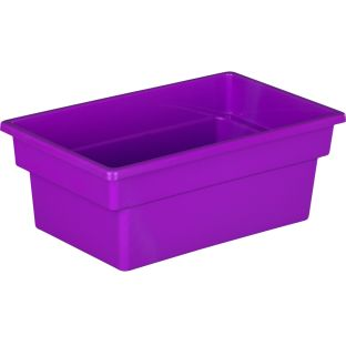 All-Purpose Bins - Set Of 6 Grouping Colors