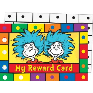 Dr. Seuss™ Reward Punch Cards - 36 cards