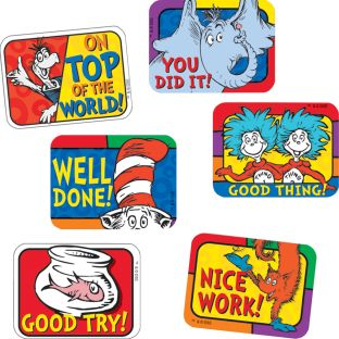 Dr. Seuss™ Success Stickers