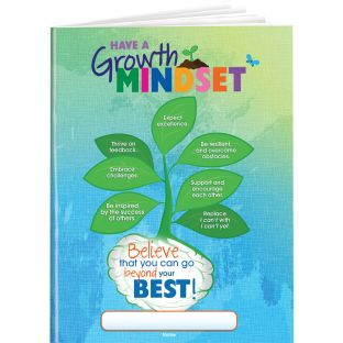 Growth Mindset Lined Journals