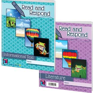 Read And Respond Flip Journals - 12 journals