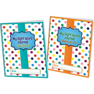 My Sight Word Journals Kit - 24 journals