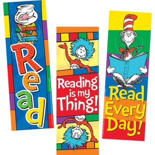 Dr. Seuss™ Bookmarks - 36 bookmarks