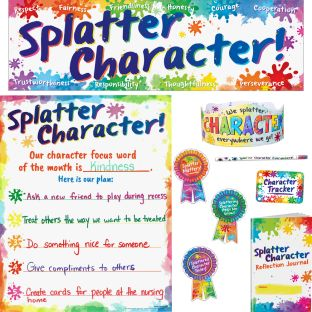 Splatter Character Kit - 1 multi-item kit