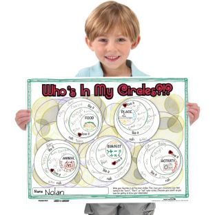Ready-To-Decorate Whos In My Circles? Posters
