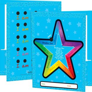 Breathing Star 2-Pocket Folders - 12 folders