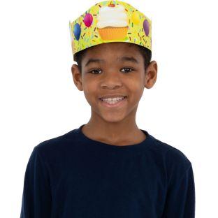 Cupcake Birthday Crowns