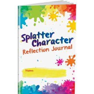 Splatter Character Reflection Journals - 12 journals