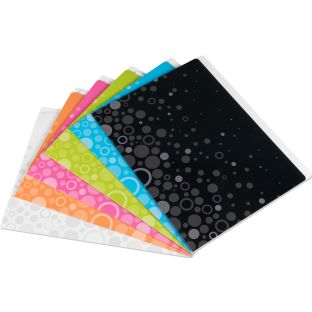 Fizz! File Folders - Set Of 12 - Neon Pop - 6 Colors
