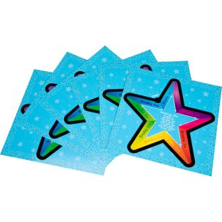 Breathing Star Tactile Cards - 6 cards