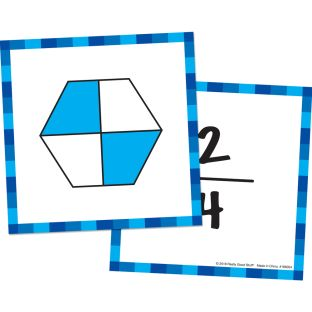 Intermediate Fractions Cards - 42 cards