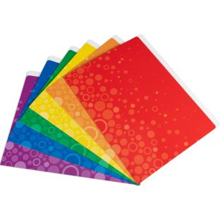 Fizz! File Folders - Set Of 12 - 6 Colors