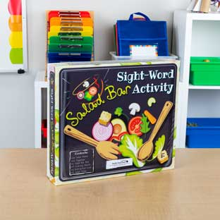 Sight-Word Salad Bar Activity - 1 game