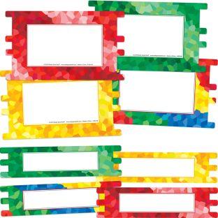 Decorative Pop In Panels  4 Colors - 16 panels