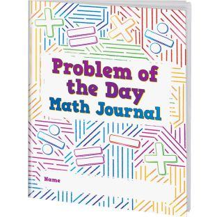 Problem Of The Day Math Journals - 12 journals