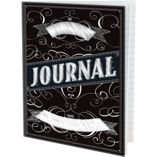 Intermediate Chalkboard-Style Journals