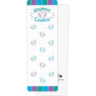 Kindness Counts Bookmarks - 24 bookmarks