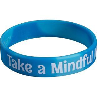 Take A Mindful Minute Silicone Bracelets - 24 bracelets
