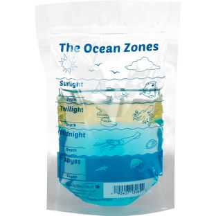 The Ocean Zones Baggies - 24 plastic bags